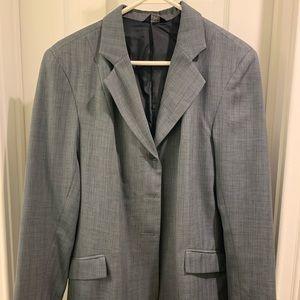 Gray USPC show coat